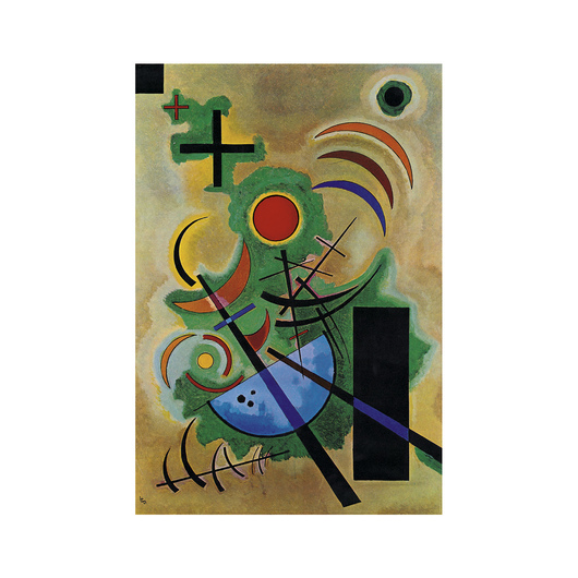 Solid Green by Wassily Kandinsky from Eurographics