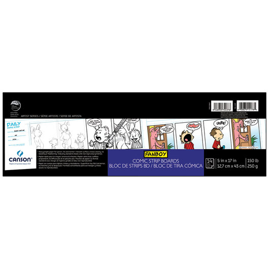 Canson® Comic Strip Boards - 5 in. x 17 in.