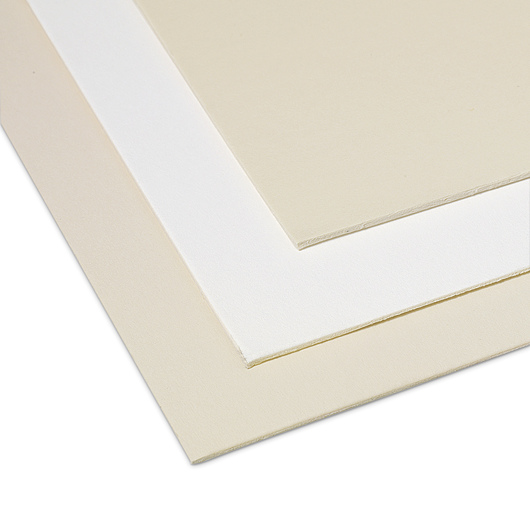 Crescent® Decorative 4-Ply Mat Board - White and Cream