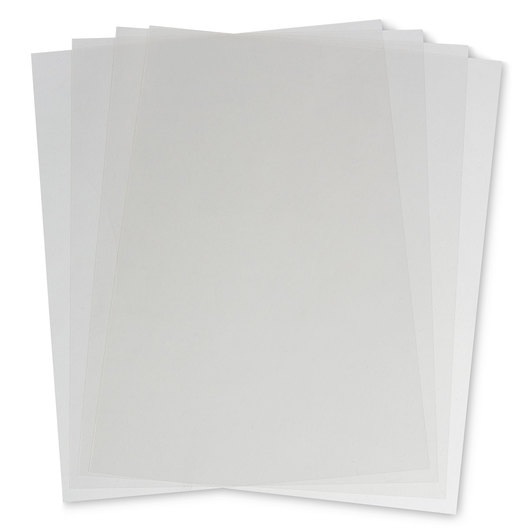 Write-On Acetate Film - 100 Sheets - 8-1/2 in. x 11 in.
