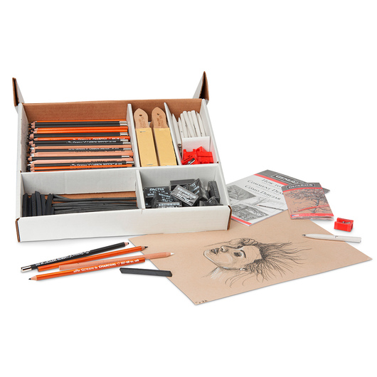 General's® Charcoal Classroom Art Pack