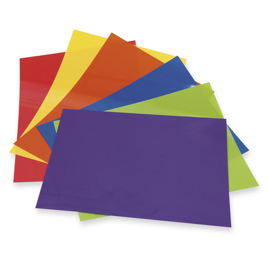 Grafix® Colored Shrink Film - Pkg. of 48 - 8-1/2 in. x 11 in.