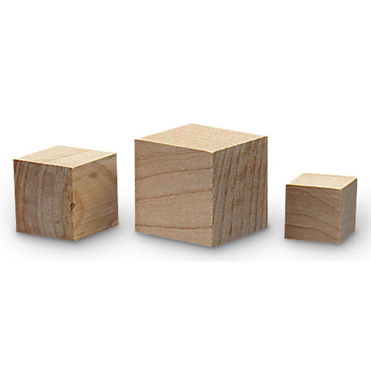 Wooden Blocks - Set of 48