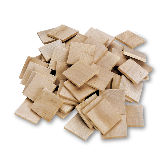 Wooden Squares - Set of 60