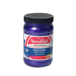 Speedball® Opaque Fabric Screen Printing Ink - 32-oz. Jar - Amethyst