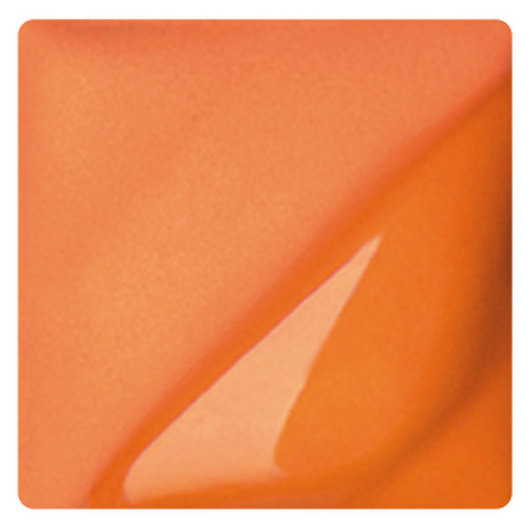 AMACO® Lead-Free Velvet Underglaze - Pint Jar - V-384 Real Orange
