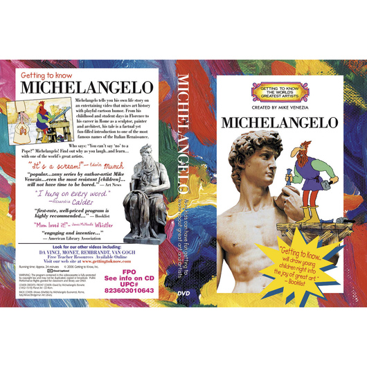 Getting to Know the World's Greatest Artists: Michelangelo - DVD