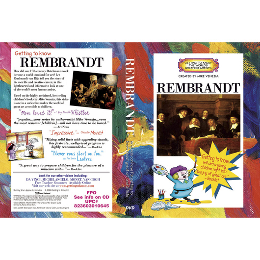 Getting to Know the World's Greatest Artists: Rembrandt van Rijn - DVD