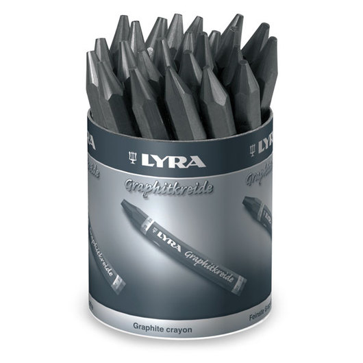LYRA® Non Water Soluble Graphite Crayons - Sets of 24