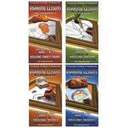 Drawing Lessons for Beginners Complete Series - 4 DVDs