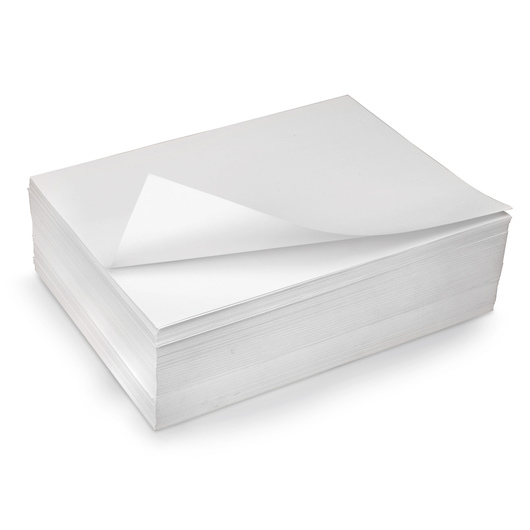Nasco White All Media Drawing Paper - 9 in. x 12 in. - 80 lb.