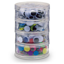 Pacon Creativity Street Wiggle Eyes Storage Stackers