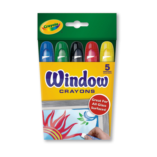Crayola® Window Crayons - Box of 5