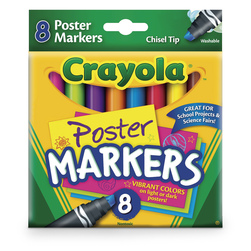 Crayola® Washable Poster Markers - Set of 8