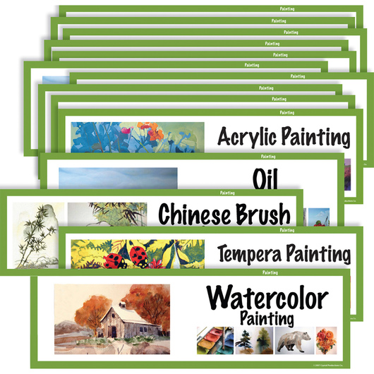 Art Display Cards, Painting