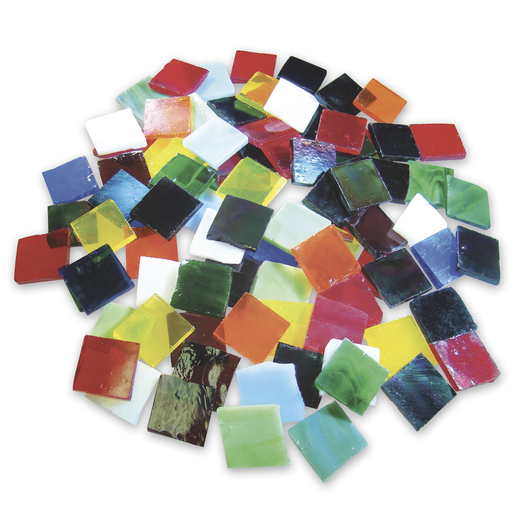 Stained Glass Chips - 8 lbs. Assortment