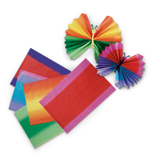 Pacon® Spectra® Madras Pattern Tissue Paper - Pkg. of 50 - 12 in. x 18 in.