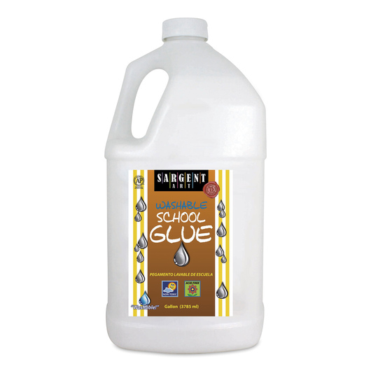 Sargent Art® Washable School Glue - 1 Gallon