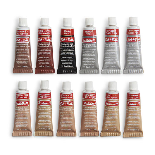 AMACO® Rub 'n Buff® Large Sampler - 1/2-oz. Tubes