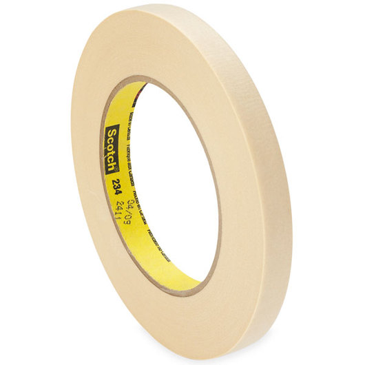 Scotch® General-Purpose Masking Tape - 60-yd. Roll - 1/2 in. Wide