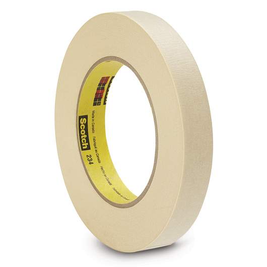 Scotch® General-Purpose Masking Tape - 60-yd. Roll - 3/4 in. Wide
