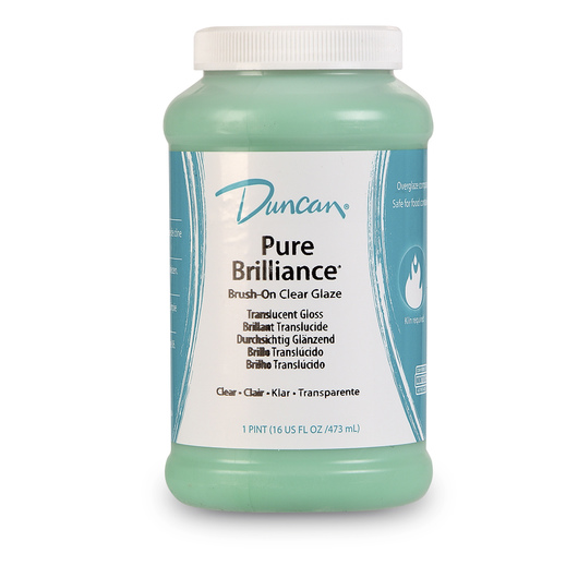 Duncan® Pure Brilliance Clear Brushing Glaze - Pint