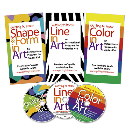 All About Art - Set of 3 DVDs