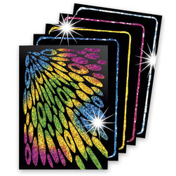Scratch-Art Trading Cards - Pack of 52