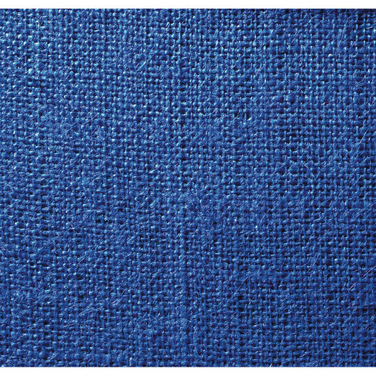 Decorator Burlap - Ecliptic Blue