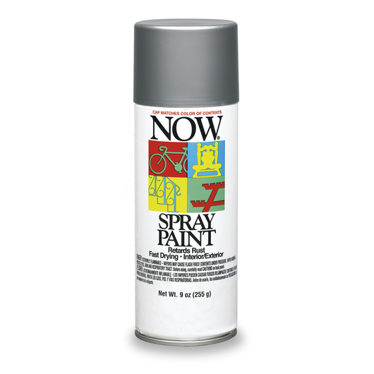 Krylon® Now® Spray Enamel Paint - 9 oz - Aluminum