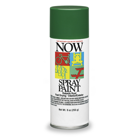 Krylon® Now® Spray Enamel Paint - 9 oz - Hunter Green