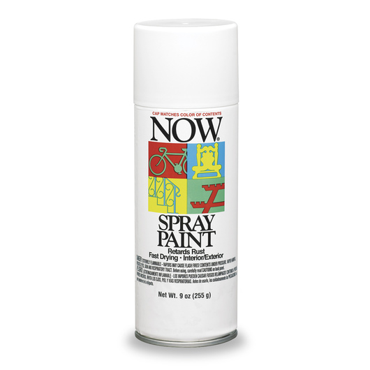 Krylon® Now® Spray Enamel Paint - 9 oz - Gloss White
