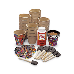 Metallic Mosaic Pot Kit