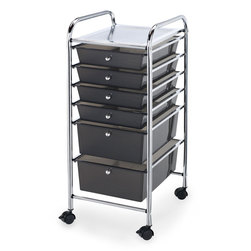 Alvin® Blue Hills Studio™ Storage Six-Drawer Cart