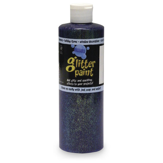 Chroma® Washable Glitter Paint - Pint - Purple
