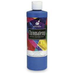 Chromatemp® Fluorescent Tempera Paint - Pint - Blue