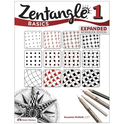 Zentangle® Book Series - Zentangle® Basics Expanded Workbook Edition
