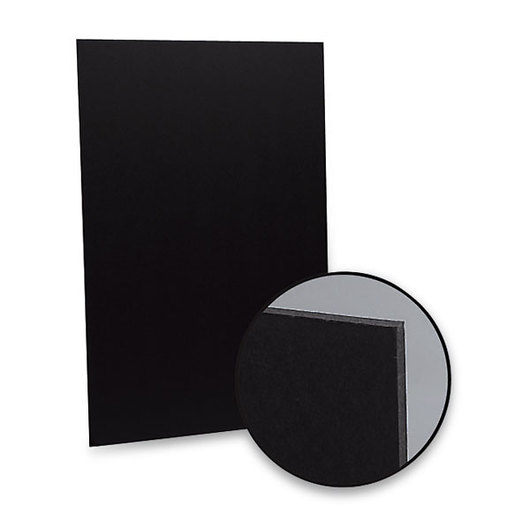 Flipside® Black Foam Board - 25, 32 in. x 40 in. Sheets