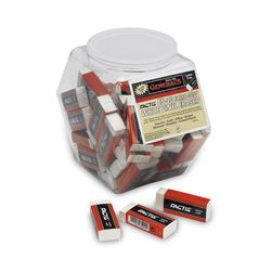 General's® Factis® Extra-Soft Vinyl Erasers - Tub of 40