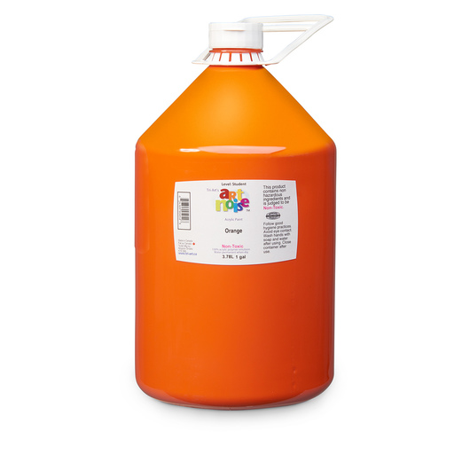 Art Noise Acrylic Paint - Gallon - Orange