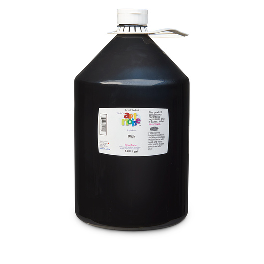 Art Noise Acrylic Paint - Gallon - Black