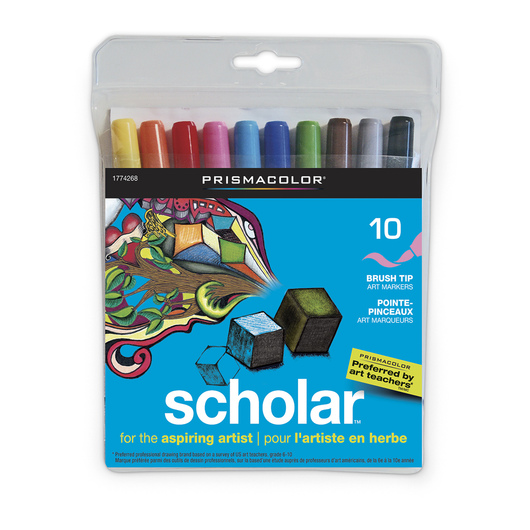 Scholar™ by PRISMACOLOR® Art Markers - Set of 10