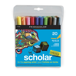 Scholar by PRISMACOLOR Art Markers - Set of 20