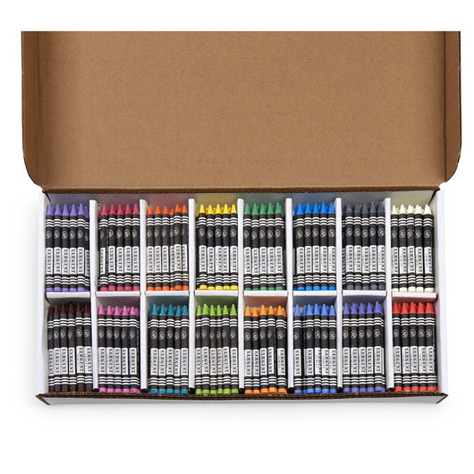 Sargent Art® Construction Paper Crayons - Set of 400
