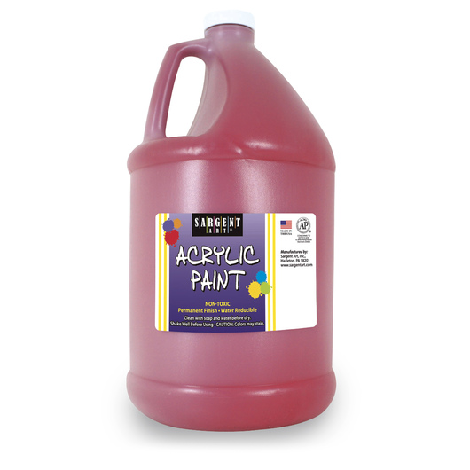Sargent Art® Acrylic Paint - 1/2 Gallon - Red