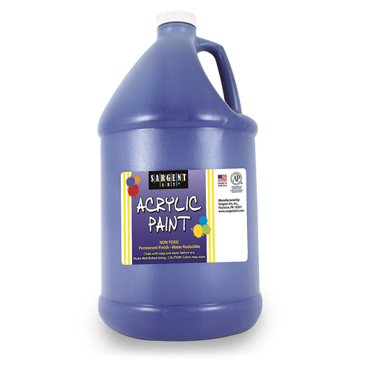 Sargent Art® Acrylic Paint - 1/2 Gallon - Blue
