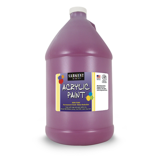 Sargent Art® Acrylic Paint - 1/2 Gallon - Magenta