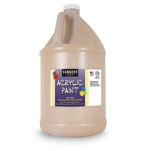 Sargent Art® Acrylic Paint - 1/2 Gallon - Peach
