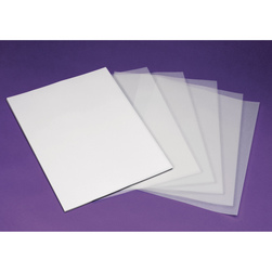 WorldWin® Clear Translucent Paper - Pkg. of 50 - 8-1/2 in. x 11 in. - 29 lb.