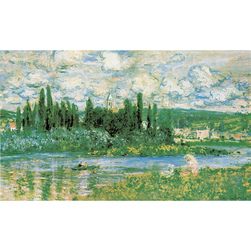 Monet Art Print: <strong>The Seine River</strong> 23-3/4 in. x 39-1/2 in.